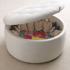 Modern Ottomans And Cubes by Vielle and Frances