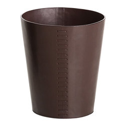 WS Bath - WS Bath Collections Korame Paper Basket - KORAME 7003.60 - Shop for Wastebaskets from Hayneedle.com! Keep your home office tidy with the tailored WS Bath Collections Korame Paper Basket. Crafted with durable hand-crafted faux leather this round wastebasket boasts bold exposed stitching and a convenient open top. Choose black or brown.About WS Bath CollectionsA tradition of fine handcraftsmanship warmth of material and beauty of design characterizes this company's exclusive collection of fine bathroom and kitchen products. The collections include innovative and distinctive sinks washbasins washstands bathtubs bathroom furniture and complementary accessories that provide inspirational solutions for every imaginable decor.