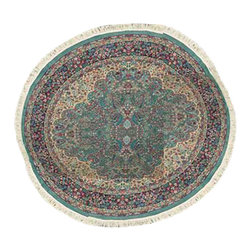 Renovators Supply - Rugs Wine 100% Olefin Round Area Rug 92'' Dia - Round Area Rug. An amazing value. Crafted in the U.S.A. from 100% olefin yarn with a super soft cashmere-like finish, stained and static electricity resistant. Measures 92 inches in diameter.