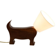 Eclectic Table Lamps by Pedlars
