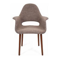 "Imax - Mid-Century Modern Retro Accent Chair - *Dimensions: 33.5""h x 28.5""w x 18.25"""