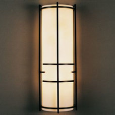 Wall Sconces Extended Bars Wall Sconce With Faux Alabaster by Hubbardton Forge