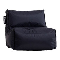 Big Joe Zip Modular Sofa Armless Chair - The Big Joe Zip Modular Sofa Armless Chair is double stitched and features double zippers for added strength and safety.