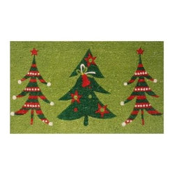 Momentum Mats - Momentum Mats Christmas Trio 29 in. x 17 in. Coir and Vinyl Door Mat 12098 - Shop for Holiday Decorations at The Home Depot. Made of natural coir and vinyl-backed for stability and to prevent movement. This cute holiday trio door mat is sure to welcome your guests with a smile. Durable addition to any porch or patio area.