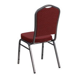 Flash Furniture - Flash Furniture Banquet Stack Chairs Banquet Stack Chairs - This is one tough chair that will withstand the rigors of time. With a frame that will hold in excess of 500 lbs., the HERCULES Series Banquet Chair is one of the strongest banquet chairs on the market. You can make use of banquet chairs for many kinds of occasions. This banquet chair can be used in Church, Banquet Halls, Wedding Ceremonies, Training Rooms, Conference Meetings, Hotels, Conventions, Schools and any other gathering for practical seating arrangements. The banquet chair is also great for home usage from small to large gatherings. For any environment that you use a banquet chair it will put your guests at a greater comfort level with the padded seat and back. Another advantage is the stacking capability that allows you to move the chairs out of the way when not in use. With offerings of comfort and durability, you can be assured that you can enjoy this elegant stacking banquet chair for years to come. [NG-C01-HTS-2201-SV-GG]