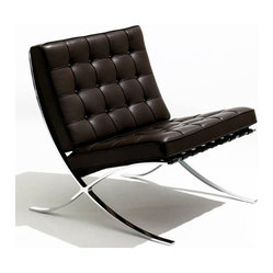 Barcelona Chair by Mies van de Rohe