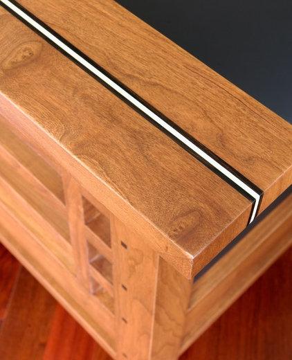 Eclectic Armchairs by Richard Bubnowski Design LLC
