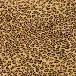 Leopard Faux Fur Upholstery Fabric - This leopard faux fur upholstery grade fabric had a fairly small pattern with a non-directional repeat, is very durable yet soft. It's high abrasion resistance rating has it well suited for any seating application or for other home decor options. Here are the specifications ...