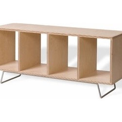 Offi - Offi | Bench Box with Legs - No Upholstery - Design by Eric Pfeiffer.