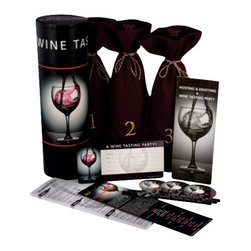 Franmara - Wine Tasting Party Kit With Pencils, Wine Bags, Glass Markers - This gorgeous Wine Tasting Party Kit with Pencils, Wine Bags, Glass Markers and More has the finest details and highest quality you will find anywhere! Wine Tasting Party Kit with Pencils, Wine Bags, Glass Markers and More is truly remarkable.