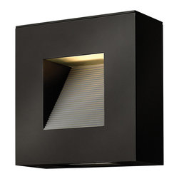 Hinkley Lighting - Hinkley Lighting 1647SK Small Square Wall Outdoor - Hinkley Lighting 1647SK Small Square Wall Outdoor