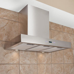 """24"""" Treviso Series Stainless Steel Wall-Mount Range Hood - 900 CFM - Keep the air in your kitchen free from cooking odors, grease and excess heat with the powerful 24"""" Treviso Series Stainless Steel Wall-Mount Range Hood. This petite design allows even the smallest kitchen to have an effective exhaust system."""
