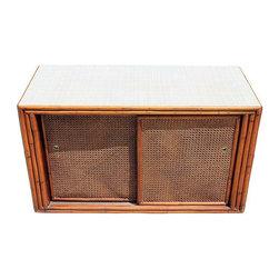 Mid-Century Bamboo Console - $500 Est. Retail - $295 on Chairish.com -