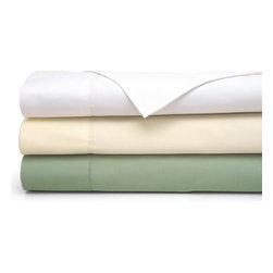 Cocona - Cocona 400 Thread Count Sheet Set - SCO-400SQ-WHI - Shop for Sheets from Hayneedle.com! If you enjoy fresh sheets but don't have the time to wash linens every single day who does? then consider the Cocona 400 Thread Count Sheet Set. Featuring a 400-thread count and sateen weave this sheet set is made of 80% cotton and 20% Cocona which increases the surface area of the yarns in fabric and in turn makes it more breathable. It also is quicker to evaporate the moisture that is naturally generated by your body as you sleep. What does all that mean to you? It means that because of the unique technology used to make these sheets odor are trapped which keeps your linens fresh and comfortable. This four-piece set is machine-washable and available in queen king and California king. About DesignWeave Get the sleep you deserve with DesignWeave products. If you re looking to keep your body temperature regulated protect yourself from allergens mites or bed bugs then DesignWeave products are ideal for you. Designing developing and producing high-quality bedding products to keep you comfortable every night.