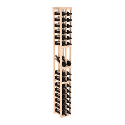 Wine Racks America - 2 Column Display Row Wine Cellar Kit in Pine, (Unstained) Pine - Make your best vintage the focal point of your wine cellar. High-reveal display rows create a more intimate setting for avid collectors wine cellars. Our wine cellar kits are constructed to industry-leading standards. You'll be satisfied. We guarantee it.