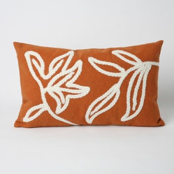 Windsor Rectangle Indoor/Outdoor Pillow in Orange