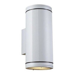 PLC Lighting - PLC Lighting Outdoor Lighting. 2 Light Outdoor Wall Sconce White Finish Clear Gl - Shop for Lighting & Fans at The Home Depot. Contemporary Beauty is a line of quality new age fixtures that appeal to your more affluent side. This line is sure to universally please by offering fixtures with halogen, CFL, or standard incandescent bulbs. With a selection that ranges from unique wall sconces to luxuriant chandeliers, available in the lamp options you desire, Contemporary Beauty has the variety and style to ensure you will find the perfect fixture to showcase the allure of any room.
