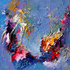 by Vibrant Abstract painting studio