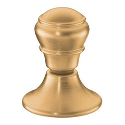 KOHLER - KOHLER K-9446-BV Lift Knob Flush Actuator for Portrait/Revival/Serif Toilets - KOHLER K-9446-BV Lift Knob Flush Actuator for Portrait/Revival/Serif Toilets in Brushed Bronze