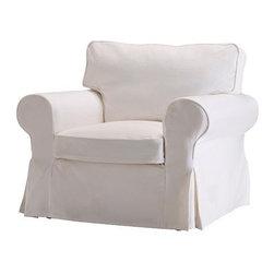 IKEA of Sweden - EKTORP Chair cover - Chair cover, Blekinge white