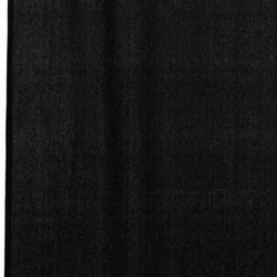 India home fashions burlap shower curtain black burlap star the burlap shower curtain is a - Gorgeous black shower curtain design ideas for simply awesome look ...