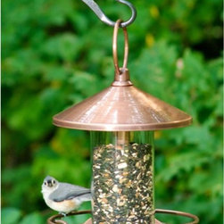 Good Directions - Good Directions Classic Perch Bird Feeder - 112VB - Shop for Feeders from Hayneedle.com! Complement your garden with style and compliment the birds to a great meal with the Good Directions Classic Perch Bird Feeder. It hangs easy looks great and has plenty of perching space . . . for birds.About Good DirectionsGood Directions got its start by creating weathervanes and cupolas but it has expanded its line to include a wide range of decorative yet functional products for the home and garden including popular Fire Domes rain chains and garden weathervanes. The company continues to attract innovative artists and designers eager to lend their vision to the creation of exceptional products to enhance the home both indoors and out. No matter which way the wind blows you can count on Good Directions to show you the way to a beautiful home.