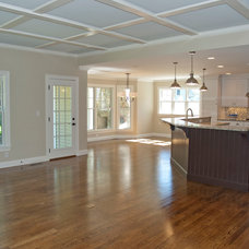 Traditional Family Room by BROM Builders