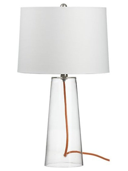 contemporary table lamps by Crate&Barrel