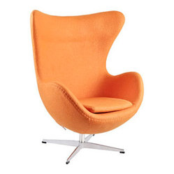 Arne Jacobsen Egg Chair in Orange