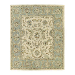 Kaleen - Kaleen Solomon Collection 4052-01 8' X 10' Ivory - Painstaking attention to detail and old world craftsmanship is the definition of Solomon.  These beautiful hand tufted rugs are produced from only the finest 100% premium virgin wool and are available in a selection of timeless designs. The collection offers an array of sophisticated colorations to meet all your decorating needs. Hand crafted in India.