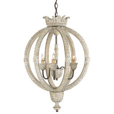Traditional Chandeliers by Currey & Company