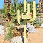 """Cactus Mailbox, Palm Springs, CA - Dolly Faibyshev's """"Cactus Mailbox, Palm Springs, CA"""" (30"""" x 20"""") Digital C-Print, Edition of 10"""