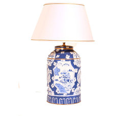 Asian Table Lamps by Dana Gibson