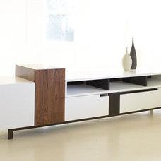 Modern Media Storage by FRINGE STUDIO