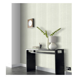 Graham & Brown - Bruno Wallpaper - Easy to apply and remove, this stripe textured wallpaper will add an extra dimension to any wall. Paintable to match any decor.