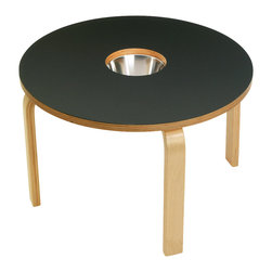 OFFI - Woody Chalkboard Table, Black - Designed by OFFI.