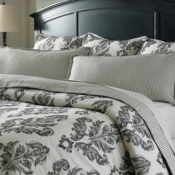 Bailey Queen Duvet by Bassett Furniture - Available in Twin, Queen, Super King, and Cal King.