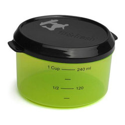 Fit & Fresh - Fit & Fresh Kids 1 Cup Chill Container - When you pack parts of your kids' lunch in a plastic sandwich Bag, you may be making a dangerous mistake. For one thing, most sandwich Bags contain BPA, a chemical that has been proven to disrupt the normal hormonal balances in babies and kids.