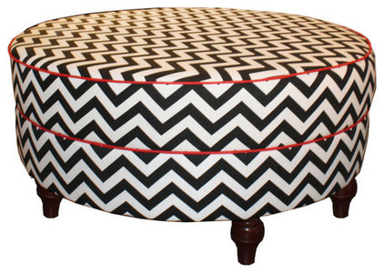 contemporary ottomans and cubes by Furbish