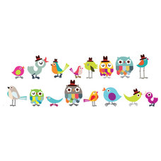 Eclectic Wall Decals Tweetie Birdies