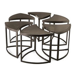 6-pc. Wedge Table - Frontgate, Patio Furniture