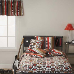 New Beat Contemporary Youth Bedding Set By SIS Covers - Bead Boutique Modern youth bedding is printed on a super-soft 100% polyester machine washable microsuede.