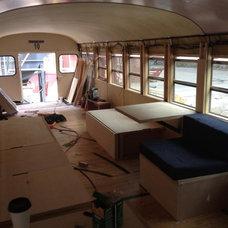 Bus Conversion interior