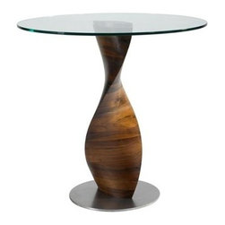 """Fine Mod Imports - Edge Dining Table, 30"""" Dia. - Features:"""