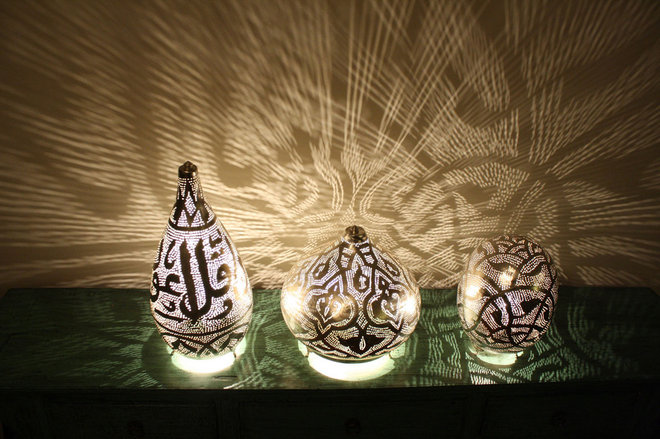 Mediterranean Table Lamps by Pyramid Power Imports