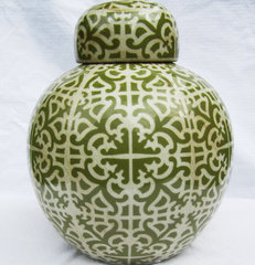 asian vases by COCOCOZY