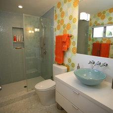 Modern Bathroom by Natalie DiSalvo