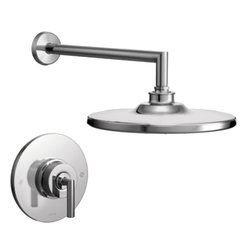 Moen - Moen TS22002 Arris Chrome Posi-Temp Shower Only - Moen TS22002 Arris Chrome Posi-Temp Shower Only. Arris Accessories offer sharp angles and tubular lines that dominate each piece in this modern collection, not just with style but with functional products also. This Chrome Posi-Temp Shower brings a modern look to your bath, and completes the overall look and design of your bathroom.  Additional features include;  WaterSense, a water saving feature that does not compromise performance, balanced control valve to maintain temperature and pressure, and Moen Immersion for 3 times the spray through the shower head. Included is the Moen limited lifetime warranty.
