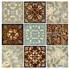 Wall Decals Venetian Tiles Wall Decals