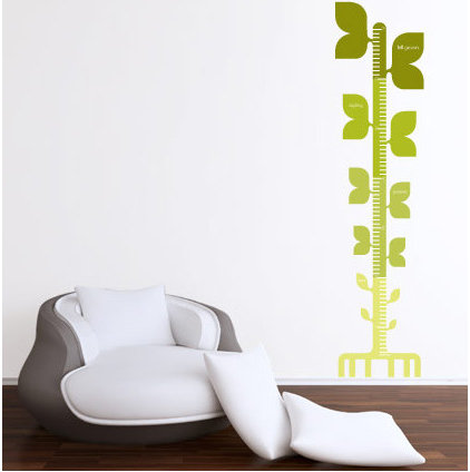 Contemporary Wall Decals by Scribble on Everything